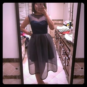 Navy color dress (NWOT)